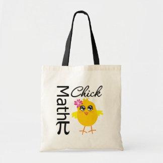 Math Chick Budget Tote Bag