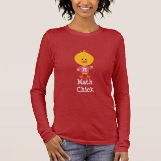 Math Chick Long Sleeve T-shirt