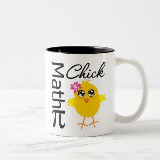 Math Chick Coffee Mugs