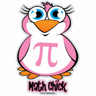 Math Chick Statuette