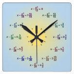 Math Clock (AM-PM)