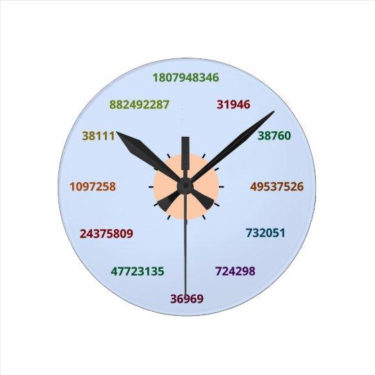 Math Clock (base 36)