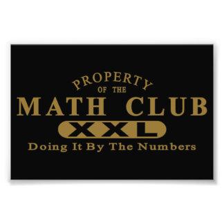 Math Club Art Photo
