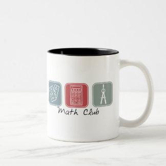 Math Club (Squares) Mugs