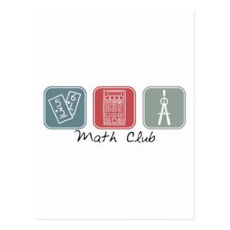 Math Club (Squares) Postcard