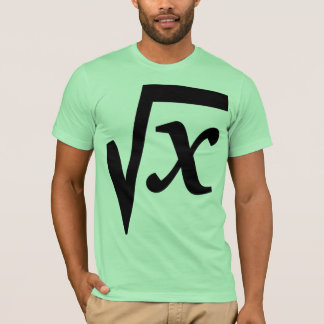 Math Color Basic T-Shirt Template - Customized