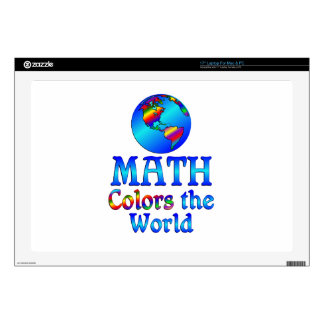 Math Colors the World Skins For Laptops