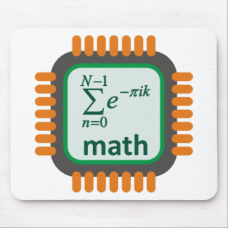 Math Computer Chip Mouse Pad