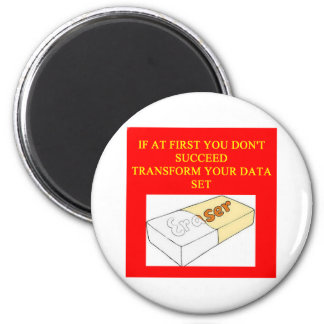 math data set 2 inch round magnet