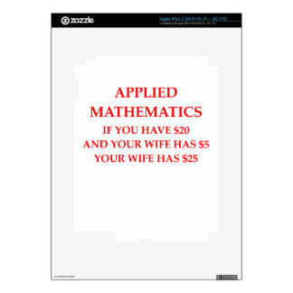 MATH DECAL FOR iPad 3