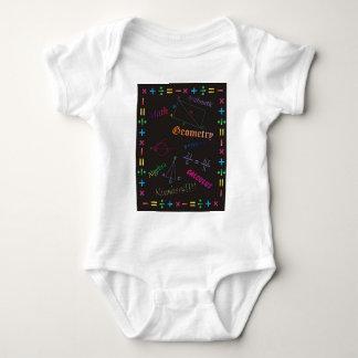 Math Design Black Baby Bodysuit