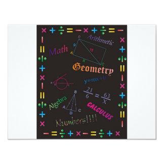 Math Design Black Card