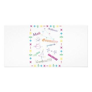 Math Design Card