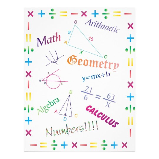 Math Design Flyer