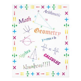 Math Design Flyers