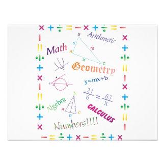 Math Design Personalized Announcements