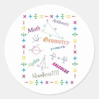 Math Design Sticker