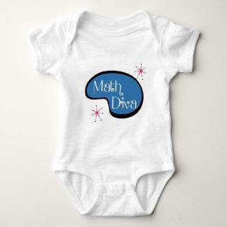 Math Diva Baby Bodysuit