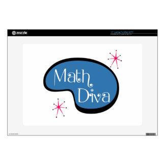 """Math Diva Skins For 15"""" Laptops"""