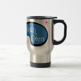 Math Diva Travel Mug