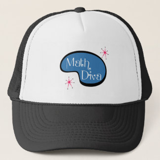 Math Diva Trucker Hat