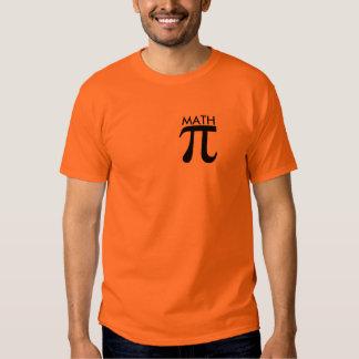 math equals mental abuse toward humankind t-shirt