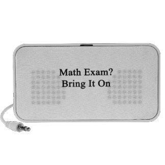 Math Exam Bring It On iPhone Speakers