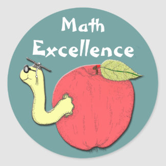 Math Excellence Sticker