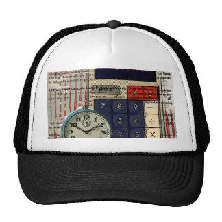 Math financial advisor accountant calculator trucker hat