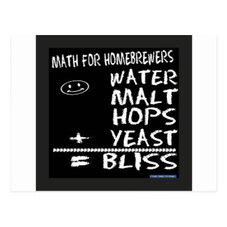 Math For Homebrewers Postcard