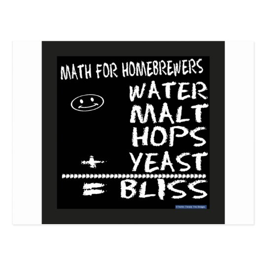 Math For Homebrewers Postcard