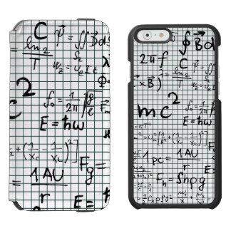 Math Formula Numbers Incipio Watson™ iPhone 6 Wallet Case