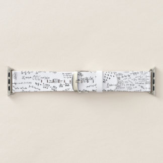Math Formulas And Numbers Apple Watch Band