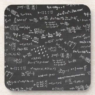 Math Formulas And Numbers Coaster