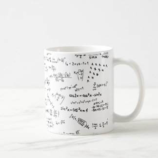 Math Formulas And Numbers Coffee Mug