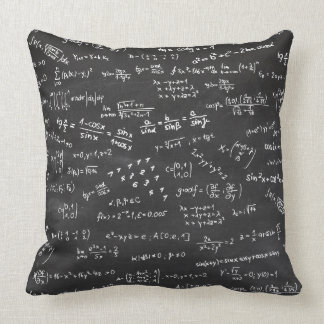 Math Formulas And Numbers Pillow