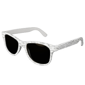 Math Formulas And Numbers Sunglasses