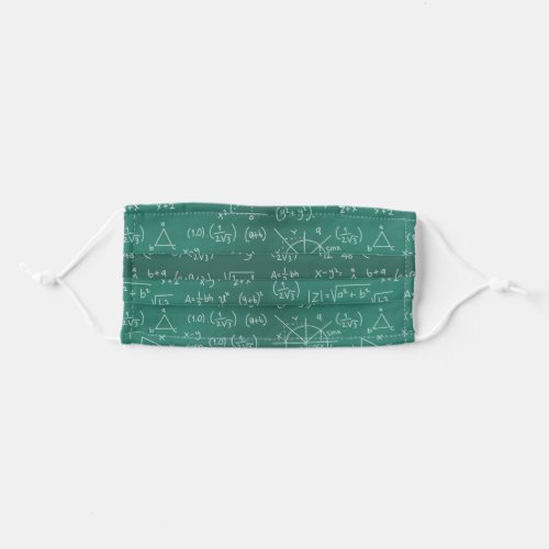 Math Formulas Cool Geek Cloth Face Mask