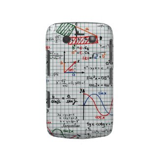 Math Formulas Numbers Blackberry Bold Case