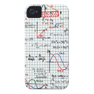 Math Formulas Numbers iPhone 4 Case-Mate Case