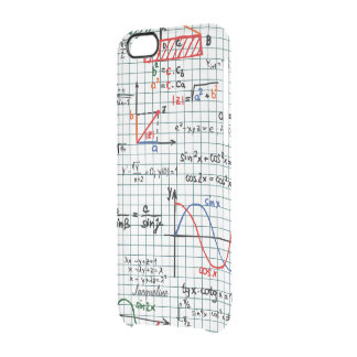 Math Formulas Numbers Clear iPhone 6/6S Case
