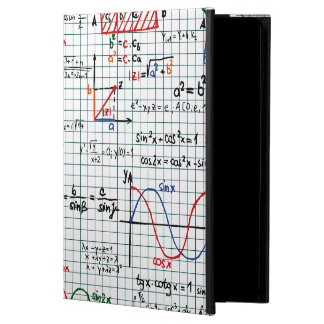 Math Formulas Numbers iPad Air case