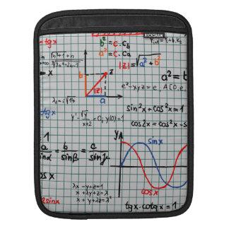 Math Formulas Numbers iPad Sleeve