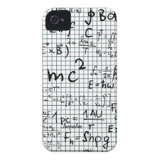 Math Formulas Numbers iPhone 4Case iPhone 4 Case-Mate Cases