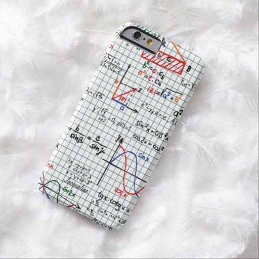 Math Formulas Numbers iPhone 6 case