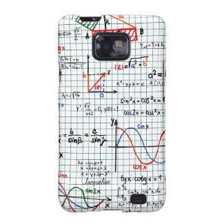 Math Formulas Numbers Samsung Galaxy S2 Case