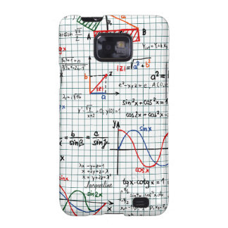 Math Formulas Numbers Samsung Galaxy S2 Case