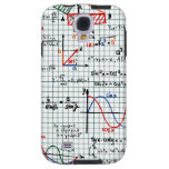 Math Formulas Numbers Samsung Galaxy S4 Case