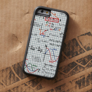 Math Formulas Numbers Tough Xtreme iPhone 6 Case