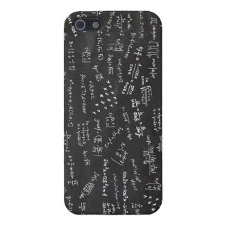 Math Formulas On Blackboard iPhone SE/5/5s Case